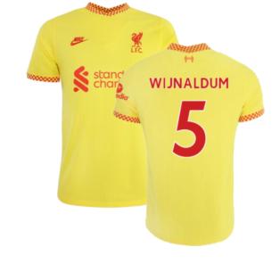 Liverpool 2021-2022 Vapor 3rd Shirt (WIJNALDUM 5)