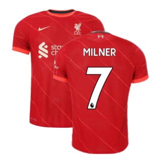 Liverpool 2021-2022 Vapor Home Shirt (Kids) (MILNER 7)