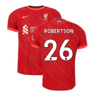 Liverpool 2021-2022 Vapor Home Shirt (Kids) (ROBERTSON 26)