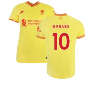 Liverpool 2021-2022 Womens 3rd Shirt (BARNES 10)