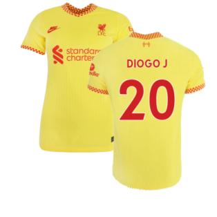 Liverpool 2021-2022 Womens 3rd Shirt (DIOGO J 20)