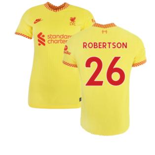 Liverpool 2021-2022 Womens 3rd Shirt (ROBERTSON 26)