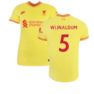 Liverpool 2021-2022 Womens 3rd Shirt (WIJNALDUM 5)