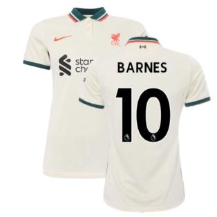 Liverpool 2021-2022 Womens Away Shirt (BARNES 10)