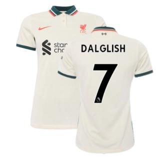 Liverpool 2021-2022 Womens Away Shirt (DALGLISH 7)