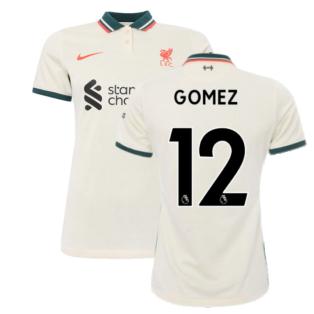 Liverpool 2021-2022 Womens Away Shirt (GOMEZ 12)