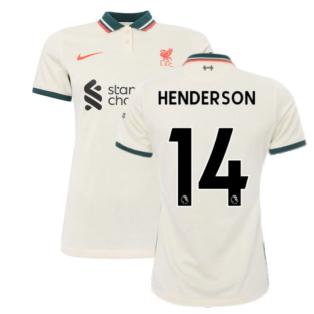 Liverpool 2021-2022 Womens Away Shirt (HENDERSON 14)