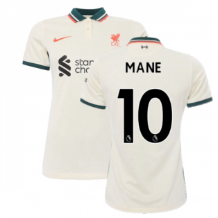 Liverpool 2021-2022 Womens Away Shirt (MANE 10)