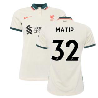 Liverpool 2021-2022 Womens Away Shirt (MATIP 32)
