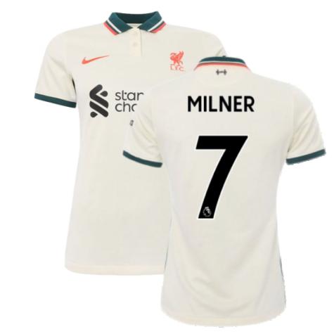 Liverpool 2021-2022 Womens Away Shirt (MILNER 7)