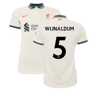 Liverpool 2021-2022 Womens Away Shirt (WIJNALDUM 5)
