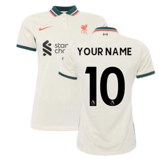 Liverpool 2021-2022 Womens Away Shirt (Your Name)