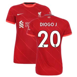 Liverpool 2021-2022 Womens Home (DIOGO J 20)
