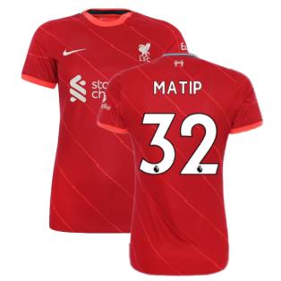 Liverpool 2021-2022 Womens Home (MATIP 32)