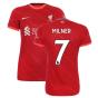 Liverpool 2021-2022 Womens Home (MILNER 7)