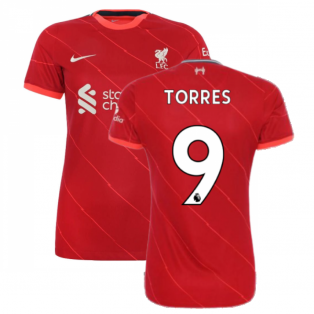 Liverpool 2021-2022 Womens Home (TORRES 9)