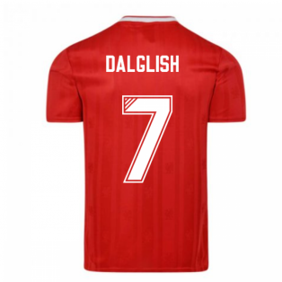 Liverpool FC 1989 Retro Football Shirt (DALGLISH 7)