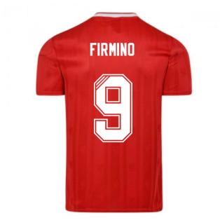 Liverpool FC 1989 Retro Football Shirt (FIRMINO 9)