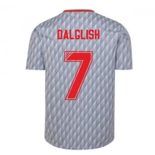Liverpool FC 1990 Away Retro Football Shirt (DALGLISH 7)