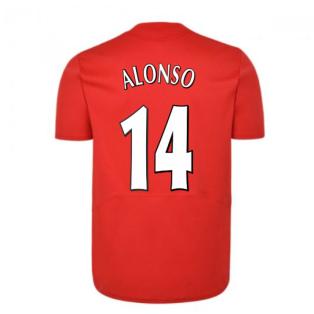Liverpool FC 2005 Champions League Final Shirt (ALONSO 14)