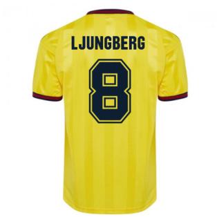 Score Draw Arsenal 1985 Centenary Away Shirt (LJUNGBERG 8)