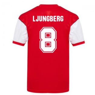 Score Draw Arsenal 1982 Home Shirt (LJUNGBERG 8)