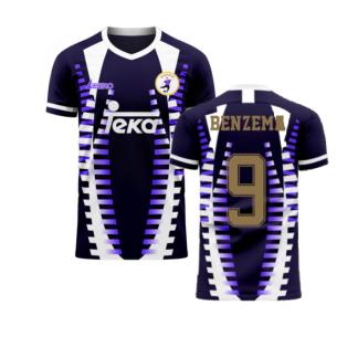 Madrid 2020-2021 Third Concept Football Kit (Libero) (BENZEMA 9)