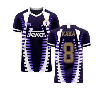 Madrid 2020-2021 Third Concept Football Kit (Libero) (KAKA 8)