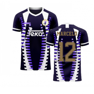 Madrid 2020-2021 Third Concept Football Kit (Libero) (MARCELO 12)