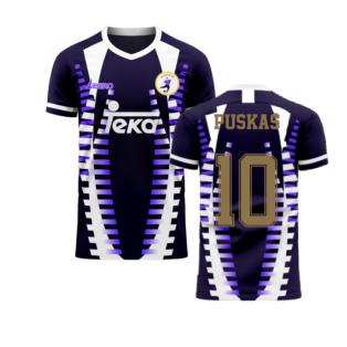Madrid 2020-2021 Third Concept Football Kit (Libero) (PUSKAS 10)