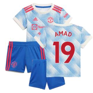 Man Utd 2021-2022 Away Baby Kit (AMAD 19)