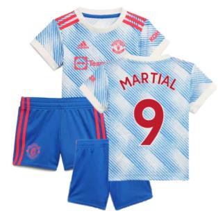 Man Utd 2021-2022 Away Baby Kit (MARTIAL 9)