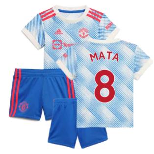 Man Utd 2021-2022 Away Baby Kit (MATA 8)