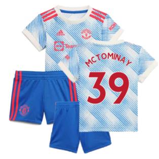 Man Utd 2021-2022 Away Baby Kit (McTOMINAY 39)
