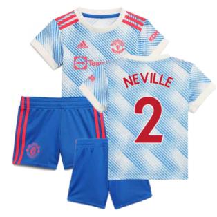 Man Utd 2021-2022 Away Baby Kit (NEVILLE 2)