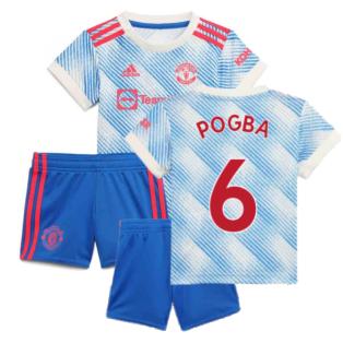 Man Utd 2021-2022 Away Baby Kit (POGBA 6)
