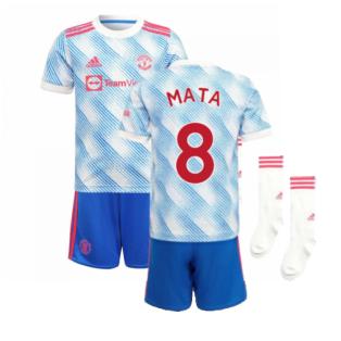 Man Utd 2021-2022 Away Mini Kit (MATA 8)