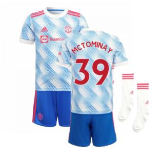 Man Utd 2021-2022 Away Mini Kit (McTOMINAY 39)