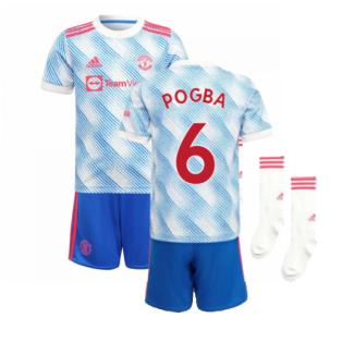 Man Utd 2021-2022 Away Mini Kit (POGBA 6)