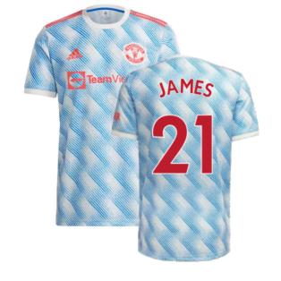 Man Utd 2021-2022 Away Shirt (JAMES 21)