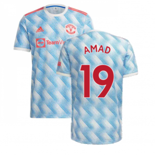 Man Utd 2021-2022 Away Shirt (Kids) (AMAD 19)