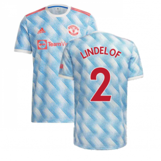Man Utd 2021-2022 Away Shirt (Kids) (LINDELOF 2)