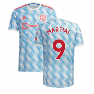 Man Utd 2021-2022 Away Shirt (Kids) (MARTIAL 9)