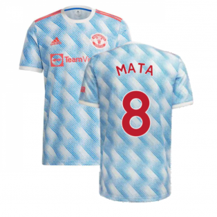 Man Utd 2021-2022 Away Shirt (Kids) (MATA 8)