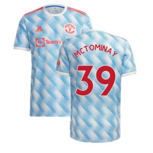 Man Utd 2021-2022 Away Shirt (Kids) (McTOMINAY 39)