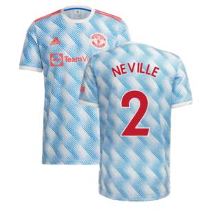 Man Utd 2021-2022 Away Shirt (Kids) (NEVILLE 2)