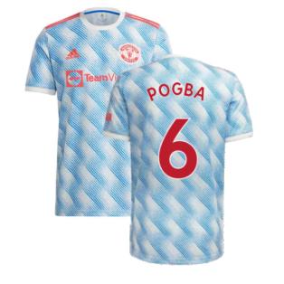 Man Utd 2021-2022 Away Shirt (Kids) (POGBA 6)