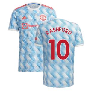 Man Utd 2021-2022 Away Shirt (Kids) (RASHFORD 10)