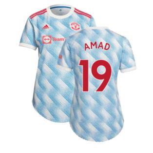 Man Utd 2021-2022 Away Shirt (Ladies) (AMAD 19)