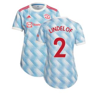 Man Utd 2021-2022 Away Shirt (Ladies) (LINDELOF 2)